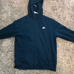 Men's Nike Blue Fleece Hoodie